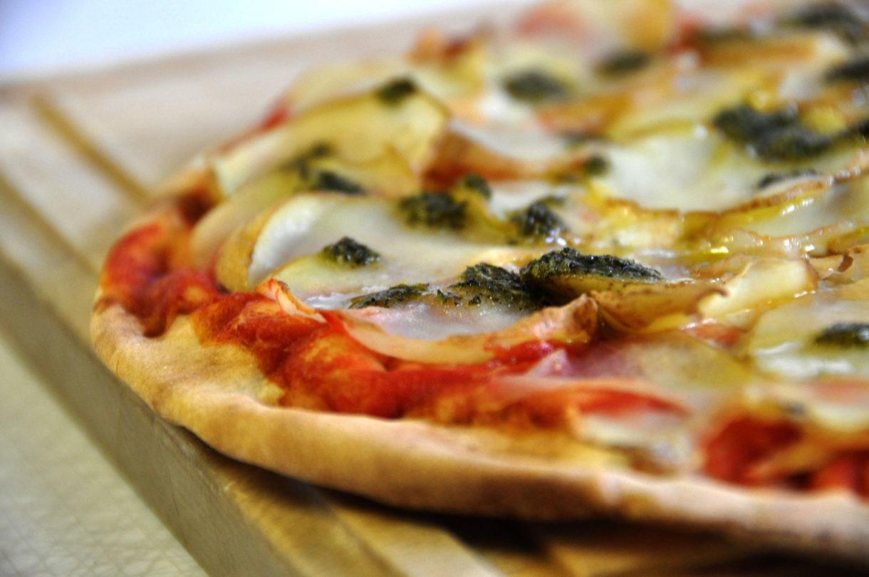 Platos típicos: La Pizza