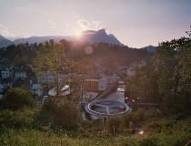 Bad Aussee, cultural pueblo alpino en Estiria