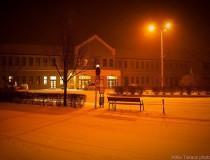 Kiskunhalas, importante nudo ferroviario al sur de Hungría