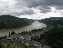 Bacharach, en el valle superior del medio Rin