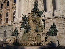 La Fuente Matías en el Castillo de Buda de Budapest