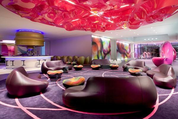 El Hotel Nhow de Berlín y su encanto decorativo y musical