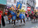 Las recreaciones del Ommegang, en Bruselas