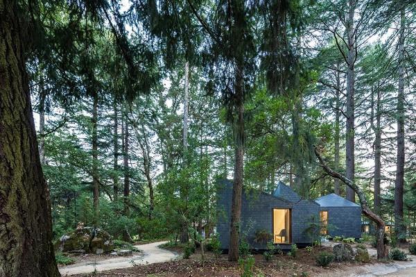 Eco Casas en el parque de Pedras Salgadas