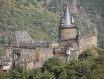 El Castillo Stahleck en la ciudad de Bacharach