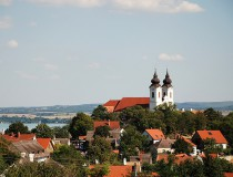 Tihany, en la orilla norte del Lago Balatón