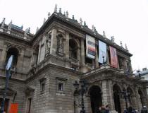 El edificio de la Ópera Nacional de Hungría en Budapest