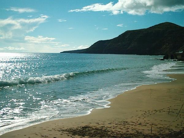 Playa Formosa, en Santa María de las Azores