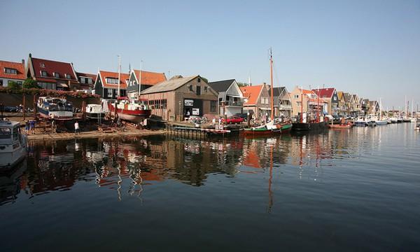 Urk, un bonito y típico pueblo pesquero