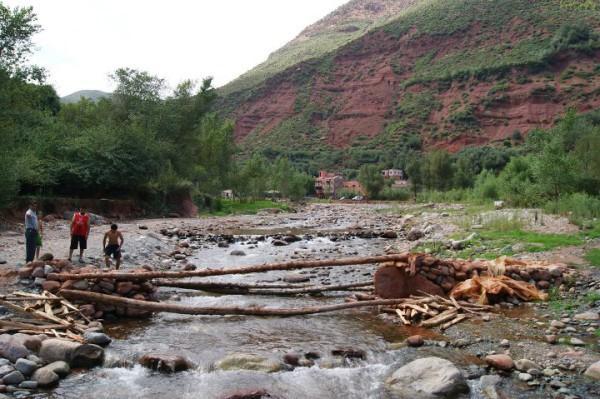 El Valle de Ourika, ríos, lluvias y bereberes