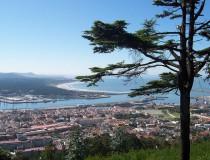 Viana do Castelo y la desembocadura del Lima