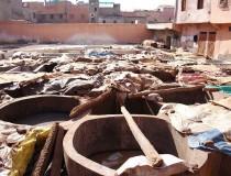 Los curtidores de cuero de Marrakech, una tradición milenaria
