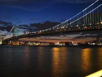 El Puente de Benjamin Franklin, el más famoso de Filadelfia