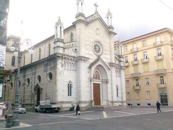 Una de las numerosas iglesias que se conservan en Avellino