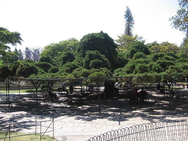 Vistas del Jardín del Príncipe Real, en Lisboa