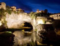 Puentedey, el pueblo burgalés construido sobre un puente natural