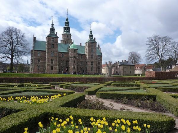 Rosenborg, un castillo en el centro de Copenhague