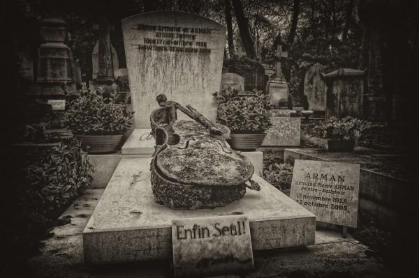 Un cementerio en Paris