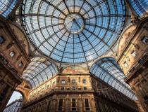 La fastuosa Galería Vittorio Emanuele II, famosa calle de Milán