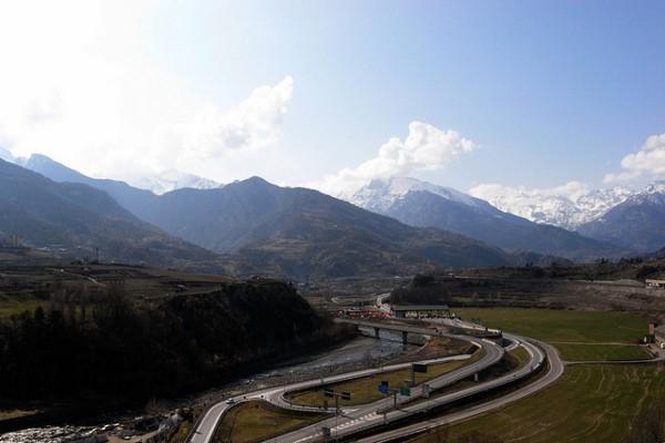 La región del Valle de Aosta, la más pequeña de Italia
