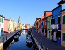 Burano, isla de colores en la Laguna Veneta