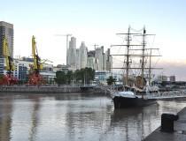 Buque Museo Corbeta Uruguay, una nave muy antigua
