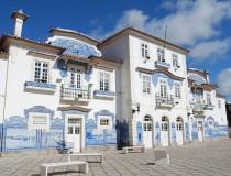 La estación de tren de Aveiro