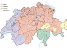 Los idiomas de Suiza