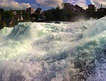 Las cataratas del Rhin, las más grandes de Europa