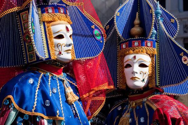 El Carnaval de Venecia es el más famoso de Italia