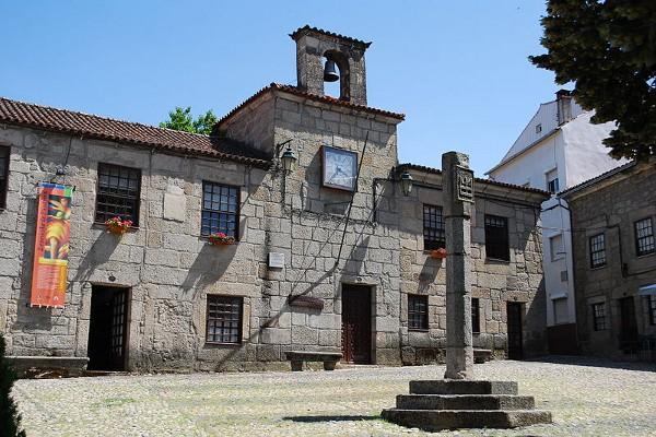 Casco histórico de Belmonte, en Portugal