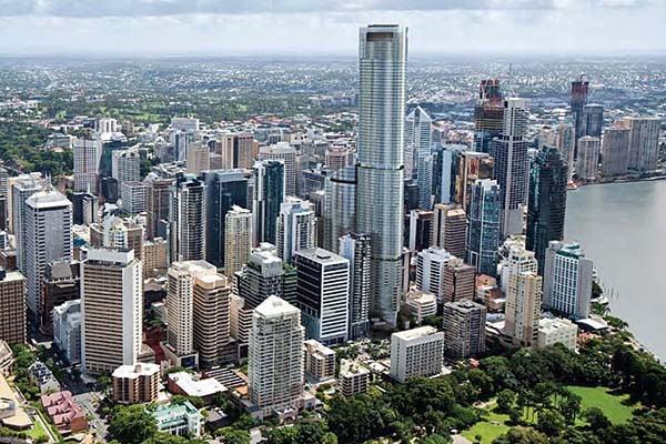 Brisbane es la tercera ciudad en habitantes de Australia