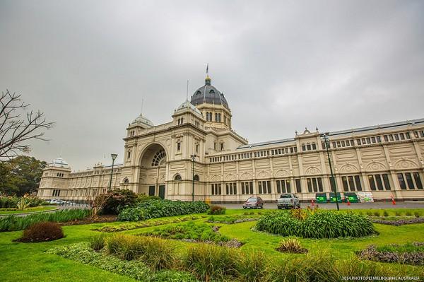 El Palacio Real de Exposiciones es uno de los lugares más conocidos de Melbourne