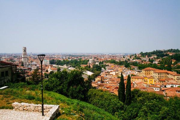 Vistas de Verona, una escapada romántica en Italia