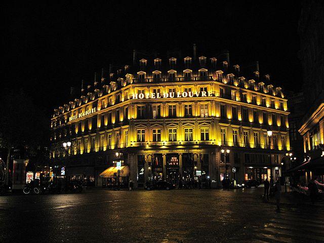 Hotel Du Louvre, lujoso hotel en París