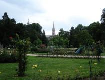 Pasear por el parque de la Pepiniere en Nancy