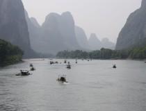 Recorre el Río Li