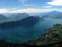 El Lago de los Cuatro Cantones, el más variado del país