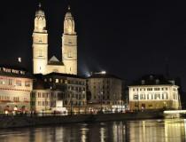 La Grossmünster, uno de los monumentos más turísticos de Zürich