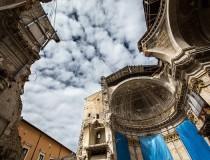 L'Aquila, la capital de la región de Abruzos