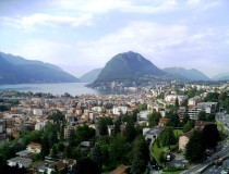 Lugano, la ciudad más grande del cantón del Tesino