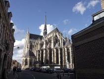 La catedral de Amiens en Francia