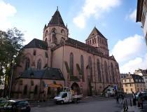La Iglesia de Saint-Thomas en Estrasburgo