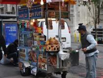 Carritos de Hot-Dogs, un clásico de la comida rápida neoyorquina