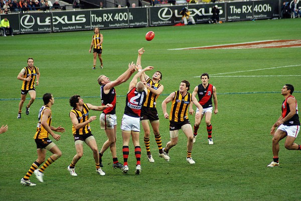 El fútbol australiano es uno de los deportes más seguidos en el país