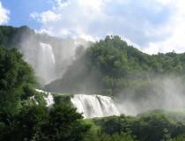 Las cascadas artificiales de Marmore