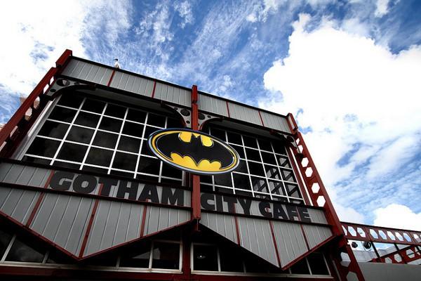 Uno de los rincones de Movie World, un parque de atracciones de Australia