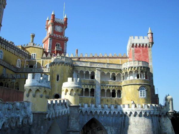 El Palacio da Pena es una joya que podéis ver en Sintra
