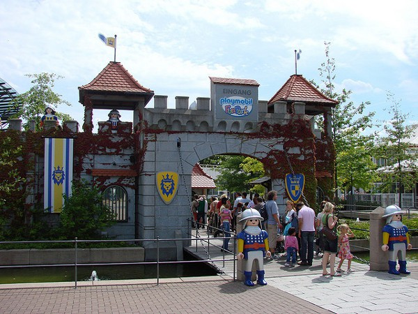Los juguetes Playmobil tienen su propio parque en Alemania