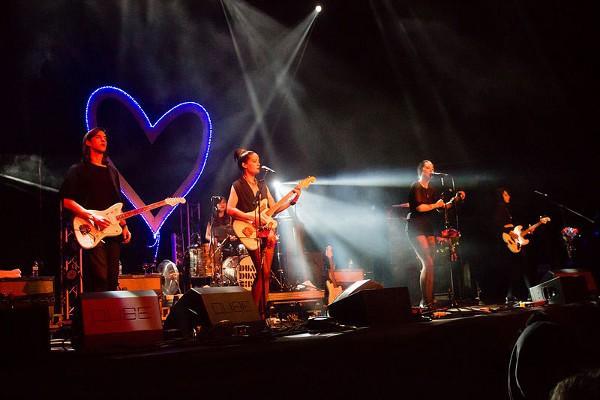 Concierto durante el festival Primavera Sound de Oporto